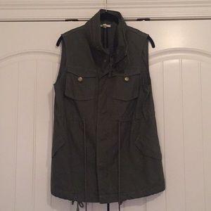 Cotton Twill Military Vest 